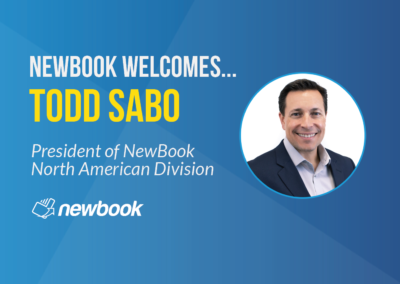 NewBook Welcomes Todd Sabo