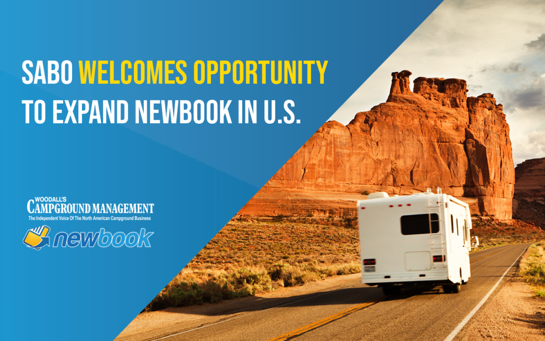 Sabo Welcomes Opportunity to Expand NewBook in U.S.